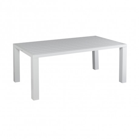 Table d'extérieur Bilbao, Hanjel blanc Taille L