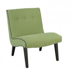 Fauteuil Sixties, Hanjel vert olive