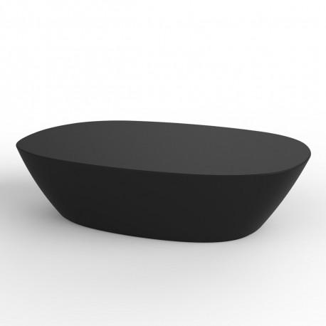 Table basse Sabinas, Vondom noir