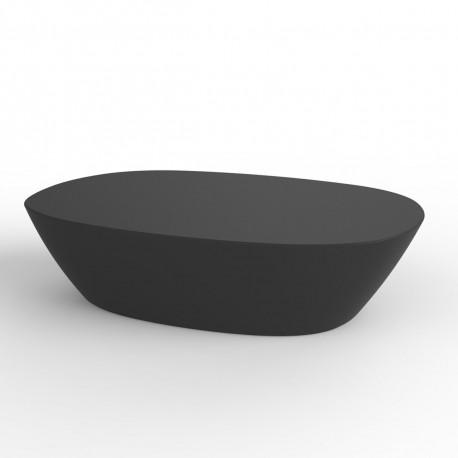 Table basse Sabinas, Vondom gris anthracite