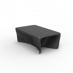 Table basse Biophilia, Vondom gris anthracite