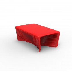Table basse Biophilia, Vondom rouge