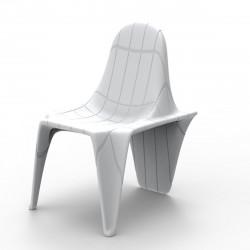 Chaise F3, Vondom blanc