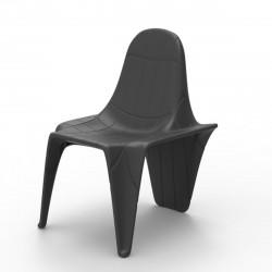 Chaise F3, Vondom gris anthracite