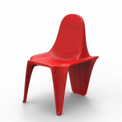Chaise F3, Vondom rouge