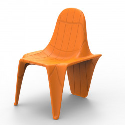 Chaise F3, Vondom orange