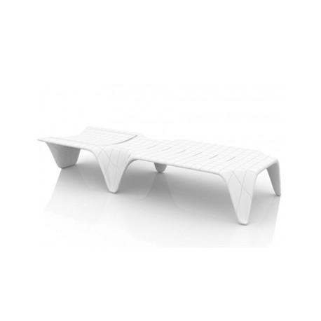 Chaise longue F3, Vondom blanc