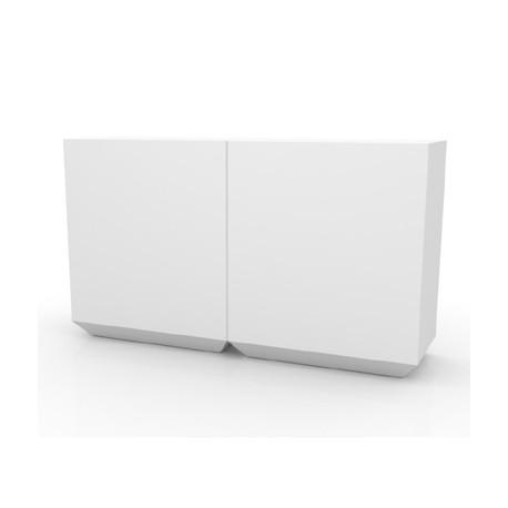 Bar Vela 200cm, Vondom blanc Lumineux LED Outdoor
