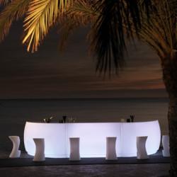 Elément droit Bar Design Fiesta, Vondom lumineux Lumineux à ampoule