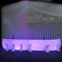 Module droit Bar Design Fiesta, Vondom lumineux Leds blancs
