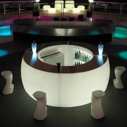 Elément d'angle Bar Design Fiesta, Vondom lumineux Lumineux à ampoule