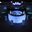 Module courbe Bar Design Fiesta, Vondom lumineux Lumineux LED RGBW filaire