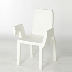 Chaise Doublix, Slide Design blanc