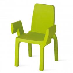 Chaise Doublix, Slide Design vert