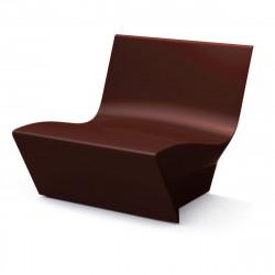 Fauteuil modulable Kami Ichi, Slide Design chocolat Mat
