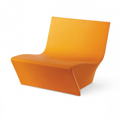 Fauteuil modulable Kami Ichi, Slide Design orange Mat