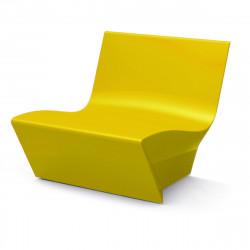 Fauteuil modulable Kami Ichi, Slide Design jaune Mat