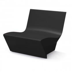 Fauteuil modulable Kami Ichi, Slide Design noir Laqué
