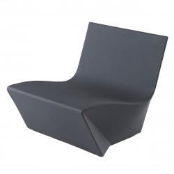 Fauteuil modulable Kami Ichi, Slide Design gris Laqué