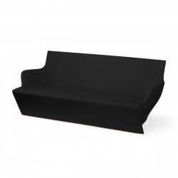 Canapé modulable Kami Yon, Slide design noir Mat