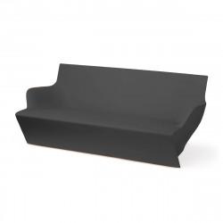 Canapé modulable Kami Yon, Slide design gris Laqué