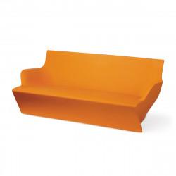 Canapé modulable Kami Yon, Slide design orange Laqué