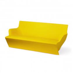 Canapé modulable Kami Yon, Slide design jaune Laqué