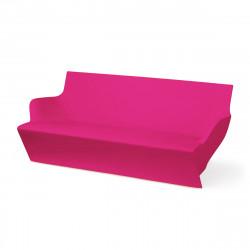 Canapé modulable Kami Yon, Slide design magenta Laqué