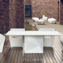 Table Faz, Vondom blanc Longueur 300 cm