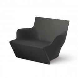 Fauteuil modulable Kami San, Slide Design noir Mat