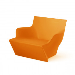 Fauteuil modulable Kami San, Slide Design orange Mat