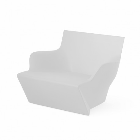 Fauteuil modulable Kami San, Slide Design blanc Laqué