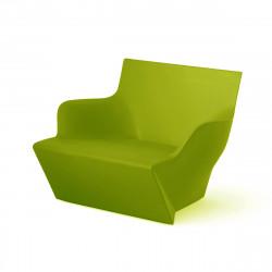 Fauteuil modulable Kami San, Slide Design vert Laqué