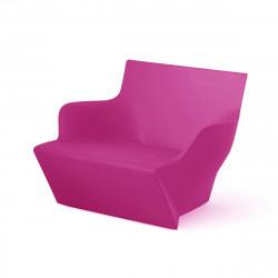 Fauteuil modulable Kami San, Slide Design magenta Laqué