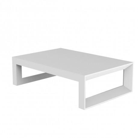 Table CmVondom Mat 120 Frame Basse Blanc QdsxhrCtB