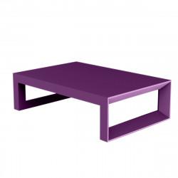 Table basse Frame 120 cm, Vondom violet Mat