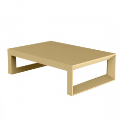 Table basse Frame 120 cm, Vondom beige Mat