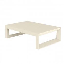 Table basse Frame 120 cm, Vondom ecru Mat