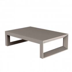 Table basse Frame 120 cm, Vondom taupe Mat