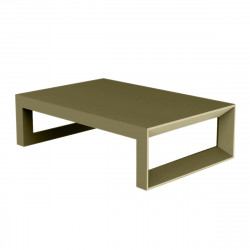 Table basse Frame 120 cm, Vondom kaki Mat