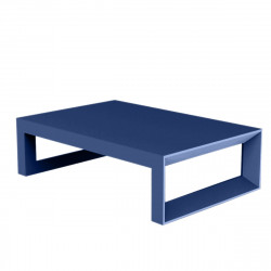 Table basse Frame 120 cm, Vondom bleu Mat