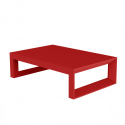 Table basse Frame 120 cm, Vondom rouge Mat