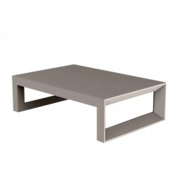 Table basse Frame 120 cm, Vondom taupe Laqué