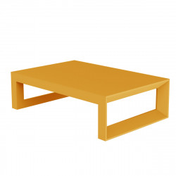 Table basse Frame 120 cm, Vondom orange Laqué