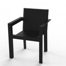 Fauteuil design Frame, Vondom noir Mat