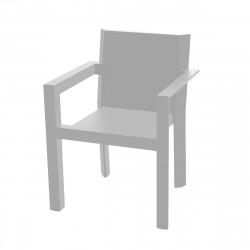 Fauteuil design Frame, Vondom acier Mat