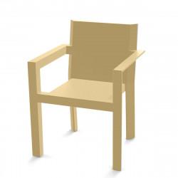 Fauteuil design Frame, Vondom beige Mat