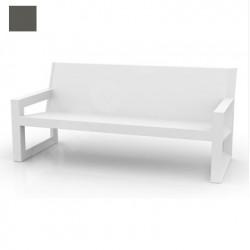 Sofa design Frame, Vondom gris anthracite Mat