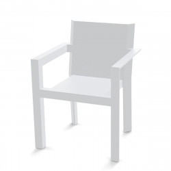Fauteuil Repas Frame, Vondom blanc Laqué