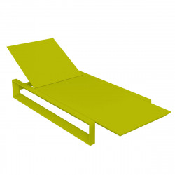 Chaise longue Frame, Vondom pistache Mat